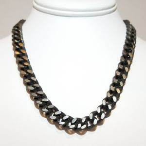 Jewelry - SALE ! Stainless Steel Gunmetal Chain Necklace NEW